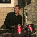 Rob Maxwell on drums